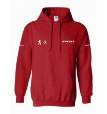 Spoox Motorsport Hoodie - Red