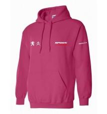 Spoox Motorsport Hoodie - Hot Pink