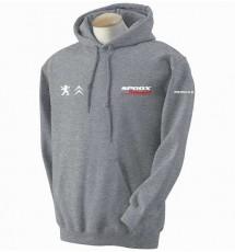 Spoox Motorsport Hoodie - Grey