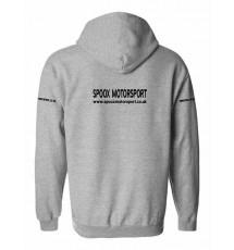 Team Spoox Motorsport Hoodie - Sport Grey
