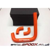 Peugeot 306 Gti-6 / Rallye Silicone Vacuum Pump Hose Kit (ORANGE)