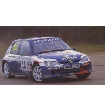 Peugeot 106 Phase 2 3dr - Polycarbonate Rear Window (4mm Clear)