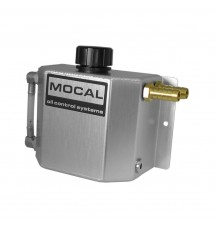 Mocal 1LTR Oil Catch Tank - Silver
