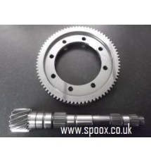 Spoox Motorsport Peugeot BE3 5 Speed 4.4 Crownwheel & Pinion.