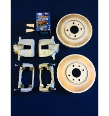 Peugeot 206 GTi 138 283mm Big Brake Kit