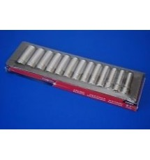 Snap-On 13 piece deep 6 point socket set - 313TWMYA