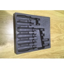 Snap-On 6 Screwdriver Grey Plastic Storage Tray - PAKTY061