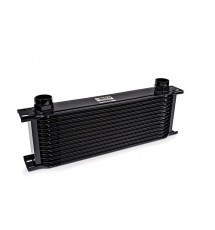 Earls 19 Row Oil Cooler Radiator - Wide - Black -10 AN