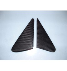 Peugeot 205 Carbon Fibre Passenger Wing Mirror Blanking Plates