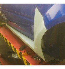 Peugeot 205 Time Attack Sideskirts - GRP / Fibreglass (PAIR)
