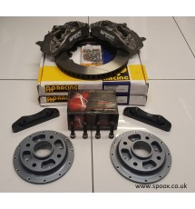 Peugeot 306 GTI-6 & Rallye AP racing 4 pot kit - 304mm (Pro 5000R)