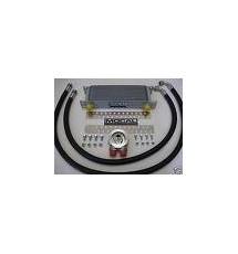 Mocal Peugeot 306 GTI-6 Oil Cooler Kit (S-Steel Hose) 13 Row