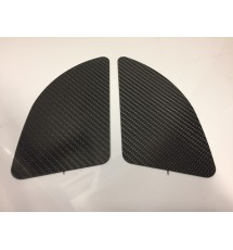 Peugeot 306 Carbon Fibre Side Heater Vent Blanking Plates (PAIR)