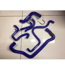 Peugeot 106 GTi / Saxo VTS Complete Silicone Coolant Hose Kit (BLUE)