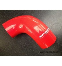 Peugeot 205 / 309 GTI Silicone Air Intake Hose (From AFM to A/Box) - Red