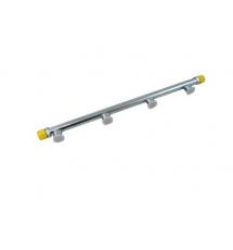 Jenvey Steel Fuel Rail (89mm centres) -6 JIC Fittings