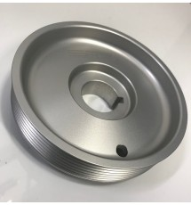 Spoox Racing Developments Peugeot 306 HDI Billet Bottom Pulley - Clear