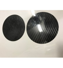Peugeot 106 Carbon Fibre Fuel Pump Covers (pair)