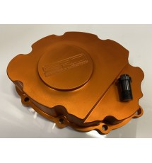 S.R.D Peugeot / Citroen BE3 / BE4 Billet Gearbox End Casing - ORANGE