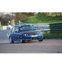Peugeot 106 GTi Complete Silicone Hose Kit (BLACK)