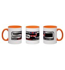 Spoox Racing Developments Orange Wraparound Mug - 325ml