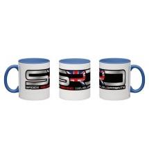 Spoox Racing Developments Blue Wraparound Mug - 325ml