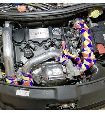 Peugeot 208 GTI Silicone Air Intake / Inlet Hose - Blue