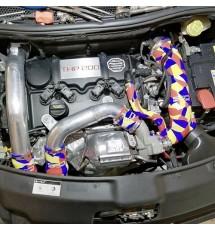 Peugeot 208 GTI Silicone Air Intake / Inlet Hose - Orange