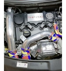 Peugeot 208 GTI EP6 Silicone Boost Pipe Kit (3 piece) - Blue