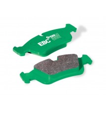 Peugeot 406 2.0 Turbo Greenstuff Front Brake Pads