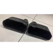 Universal Fibreglass Bumper Brake Ducts - PAIR