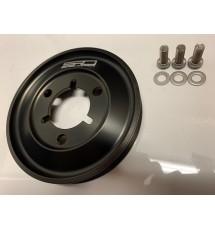 Spoox Racing Developments Peugeot 106 GTI Billet Alloy Bottom Pulley (Std Diameter) - Black