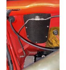 Peugeot 309 carbon fibre pedal box blanking plate