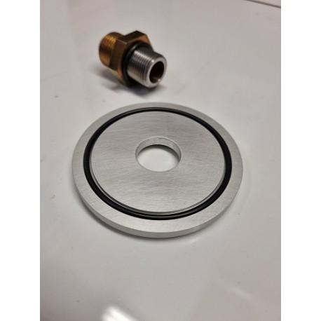 Spoox Sandwich Oil Filter Blanking Plate Adaptor