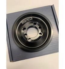 Spoox Racing Developments Citroen ZX 16 Valve Billet Alloy Bottom Pulley (BLACK) XU9J4