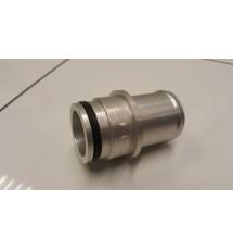Peugeot 206 GTI 180 Bottom Radiator Hose Push In Adaptor (Silver)