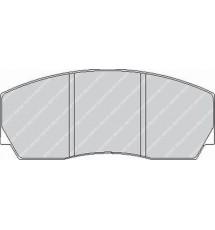Ferodo DS3000 Front brake pads - FRP216R