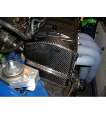 Peugeot 106 Carbon Fibre Timing Belt Upper Cover - 8 Valve