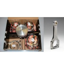 Peugeot 306 GTI-6 High Comp Pistons & Rods (86.00mm)