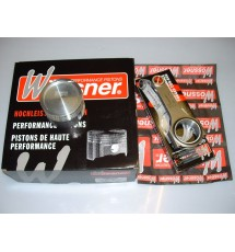 Citroen C2 VTR/VTS Wossner High Comp Pistons & Rods (78.70mm)