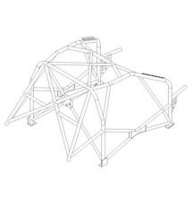 Citroen C2 2004 Int. cage (T45)