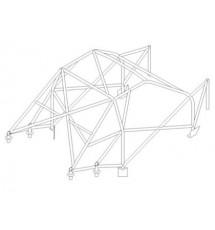 Citroen Xsara Multipoint Cage (T45)