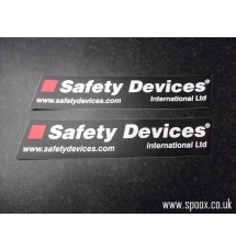 Safety Devices Roll Cage Stickers (pair)