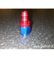 Pushfit Straight Female -8 JIC to 12mm
