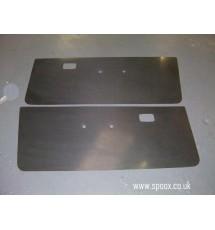 Peugeot 309 Carbon Fibre Front Doorcard Set