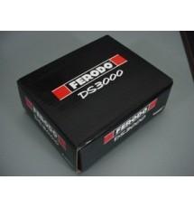 Peugeot 306 GTI-6 & Rallye Ferodo DS3000 Rear Brake Pads