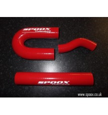 106 Gti / Saxo VTS Silicone Oil Breather Hose Kit (RED)