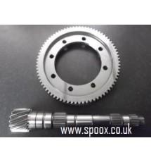Spoox Motorsport Peugeot BE3 5 Speed 4.93 Crownwheel & Pinion.
