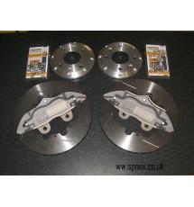 Peugeot 205 1.9 GTI AP racing 4 pot kit - 267mm