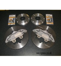 Peugeot 205 1.9 GTI AP racing 4 pot kit - 267mm